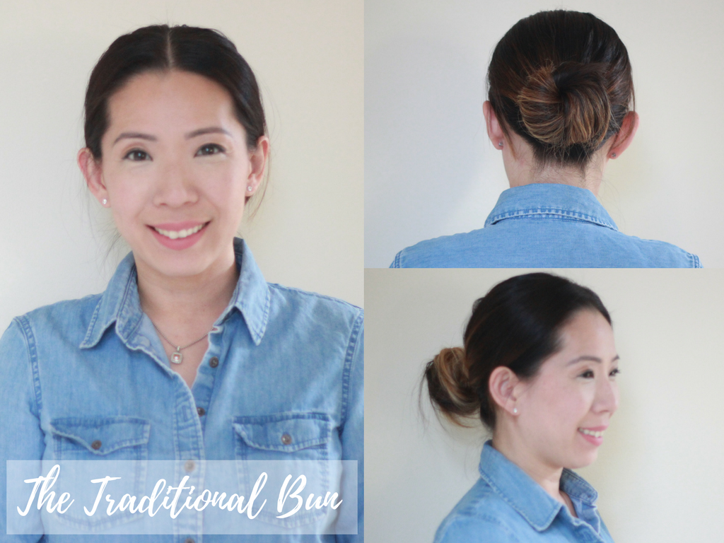 the-traditional-bun hairstyles