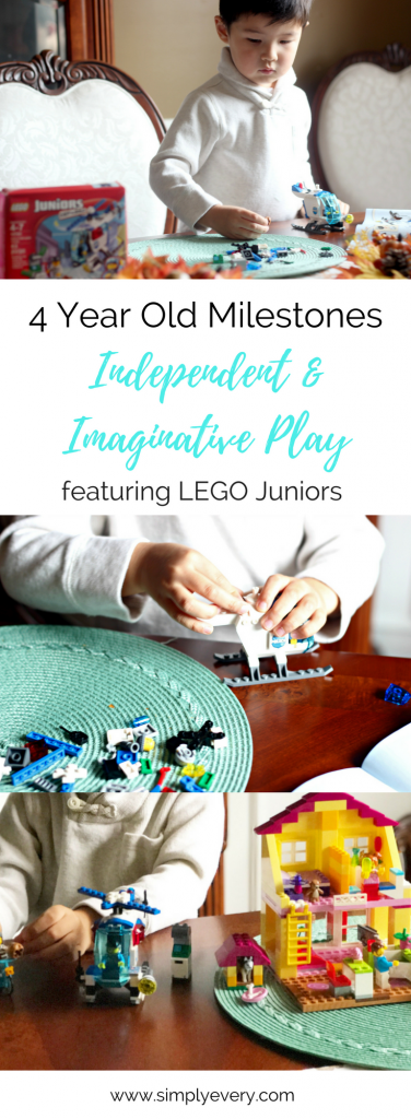 4 Year Old Milestones: Independent & Imaginative Play