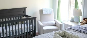 A Simple Nursery & Guest Room