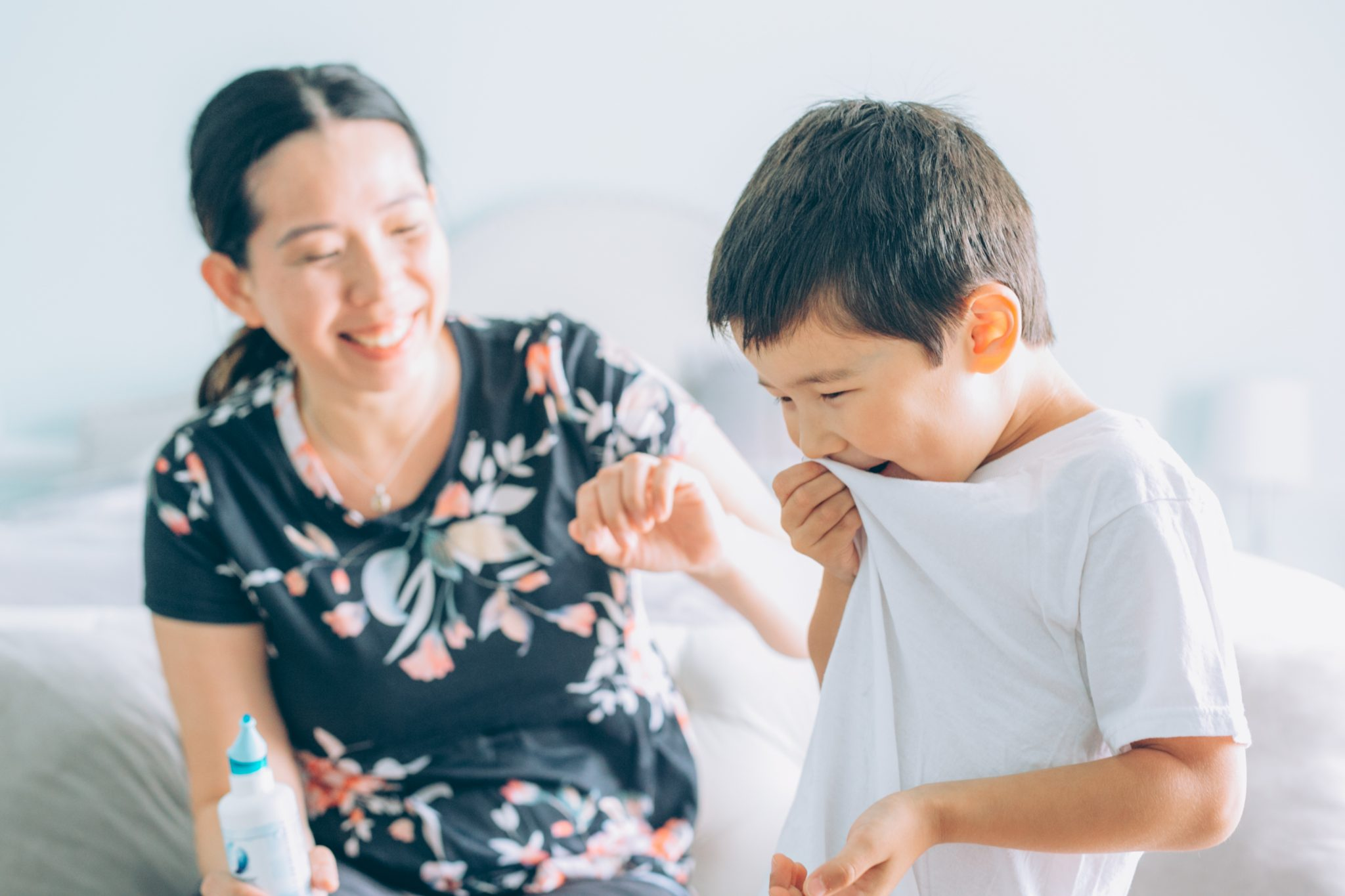 How to Use Nasal Spray For Your Kids