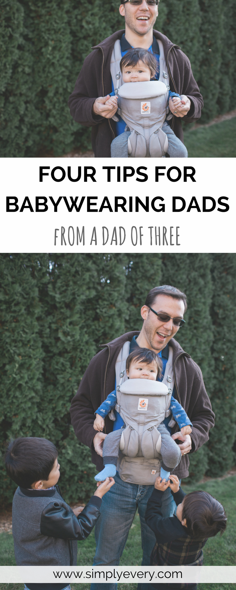 Four Tips for Babywearing Dads