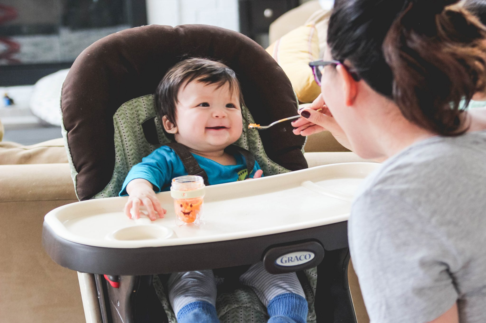 The Best Foods for Baby's First Solids (Purees & BLW)
