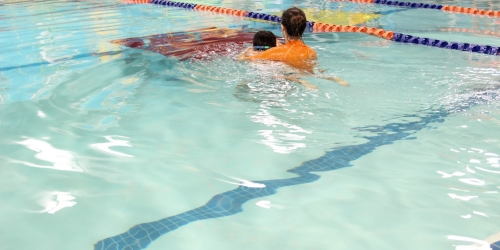 Building Confidence in (and out of) the Water through Swim Lessons