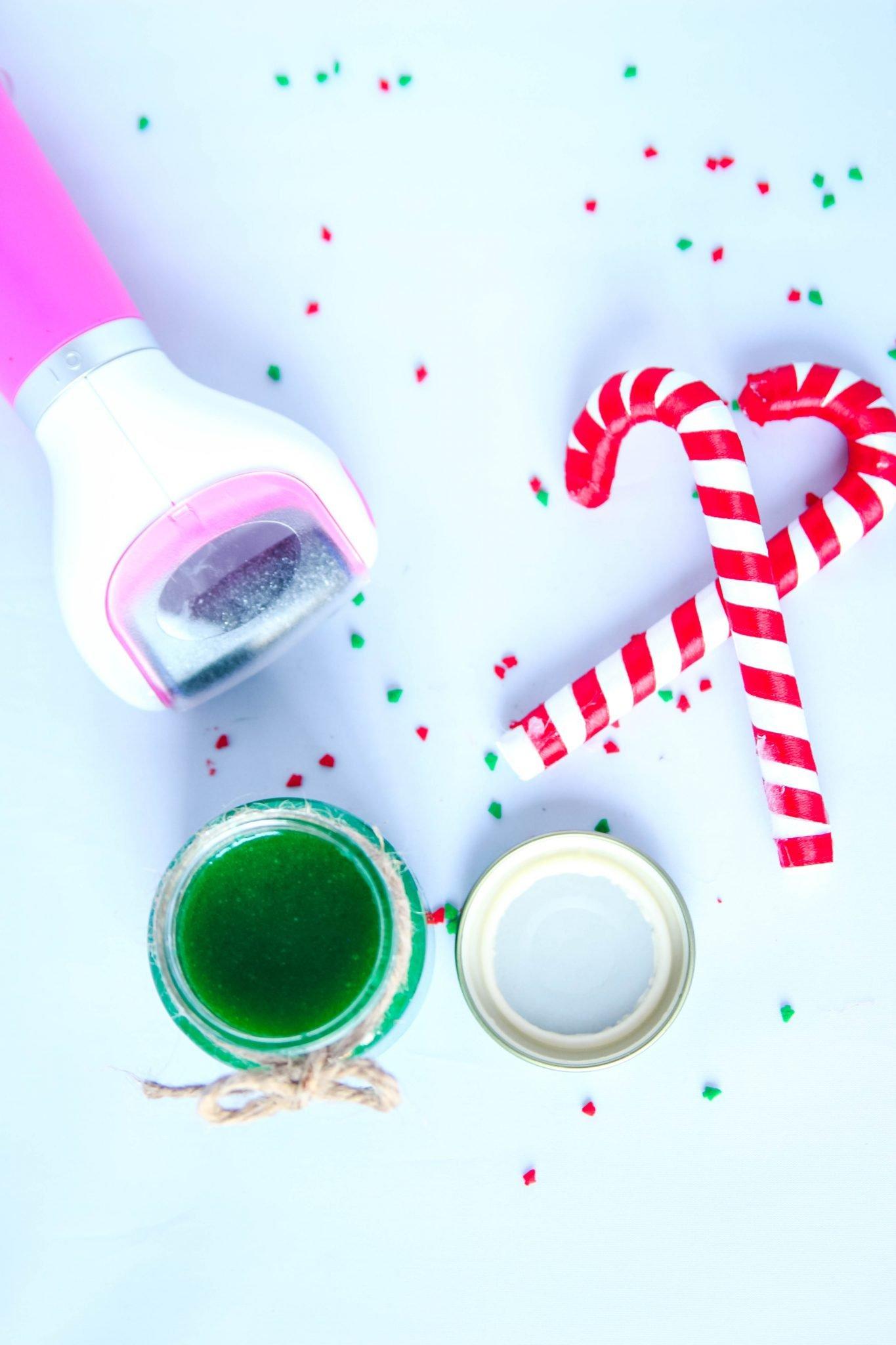 DIY Peppermint Sugar Scrub