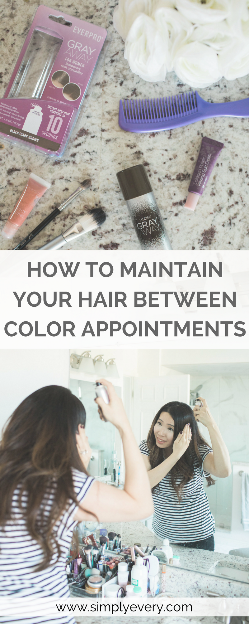 How to Maintain Your Hair Between Color Treatments