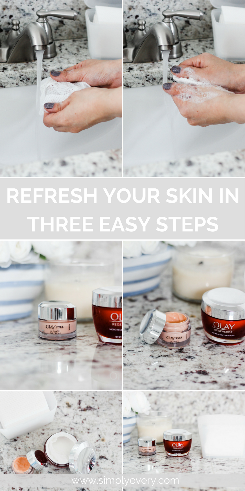 Refresh Your Skin in Three Easy Steps