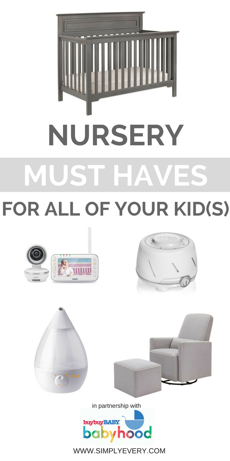 Top 5 Nursery Must Haves for All Your Kids