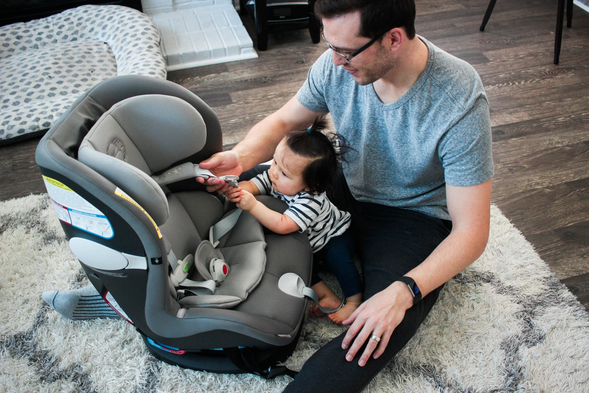 Daddy Duty & Car Seat Safety Tips from a Dad of Three