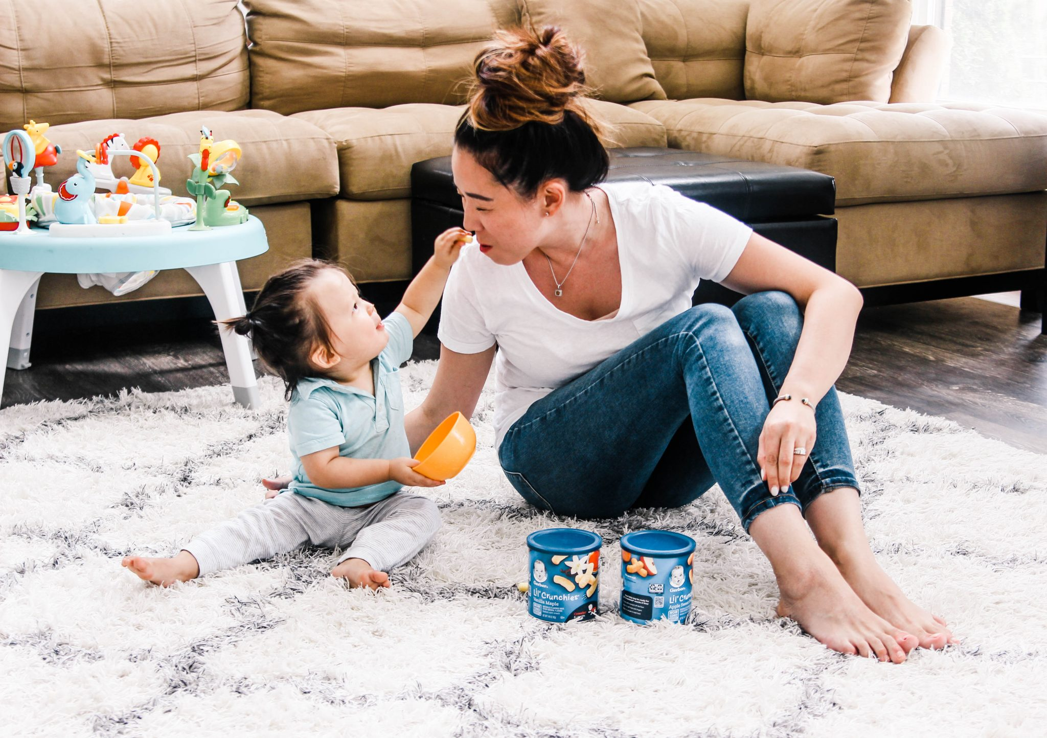 Favorite Snacks for One Year Olds + Giving Back to Children's Miracle Network