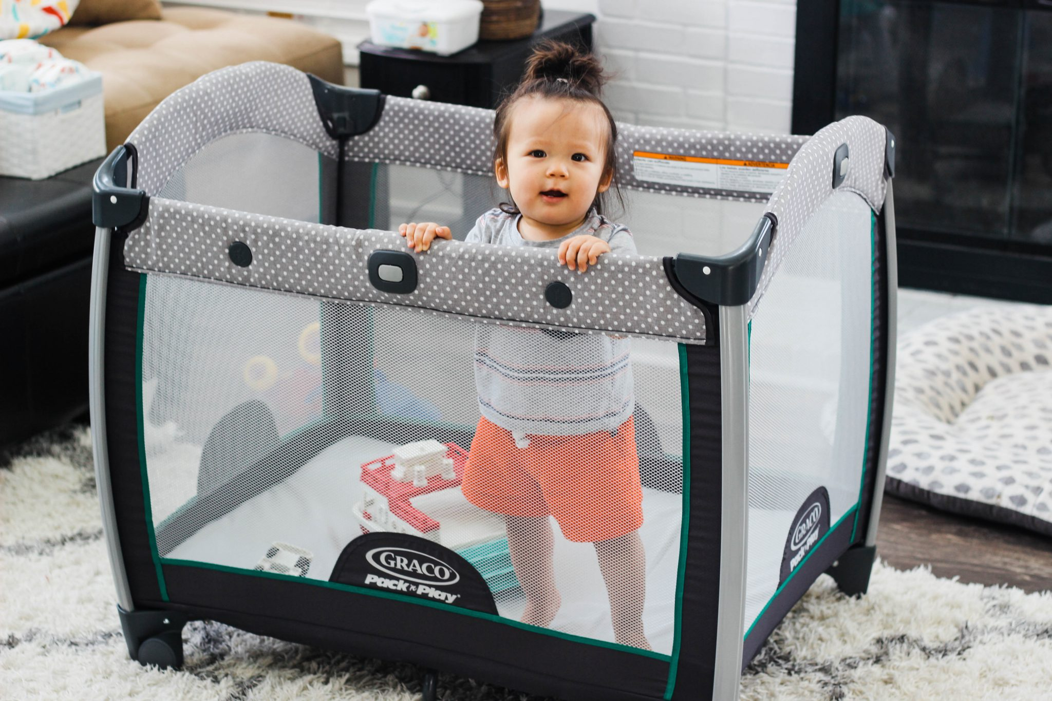 Four Ways to Use a Pack 'n Play for Infants - Simply Every