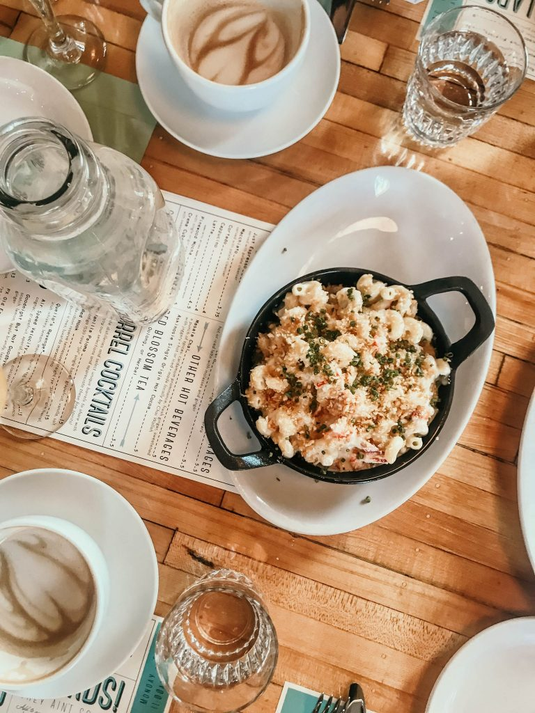lobster macaroni, Mom's Guide to Nashville