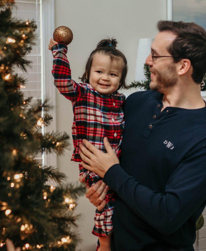 toddler Gingham pajamas