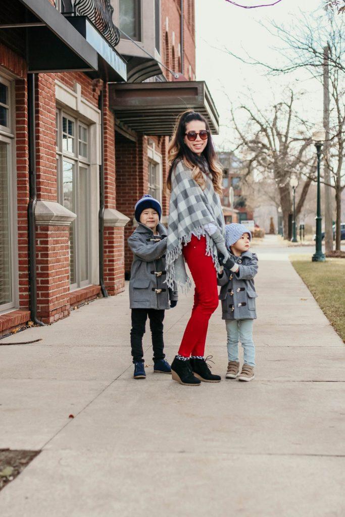 JeeYoung Wenglikowski with her kids