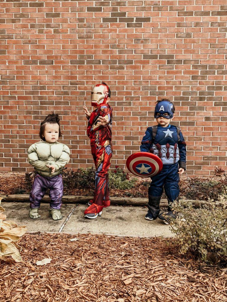 little boys's Halloween costume