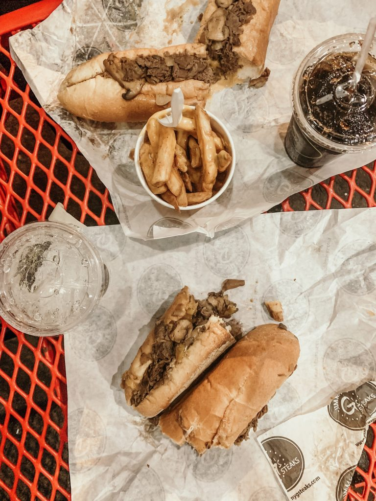 Jimmy G's Steaks - The cheesesteaks were so delicious!
