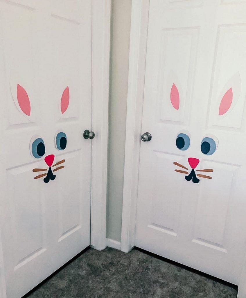 Bunny Rabbit Door Decoration