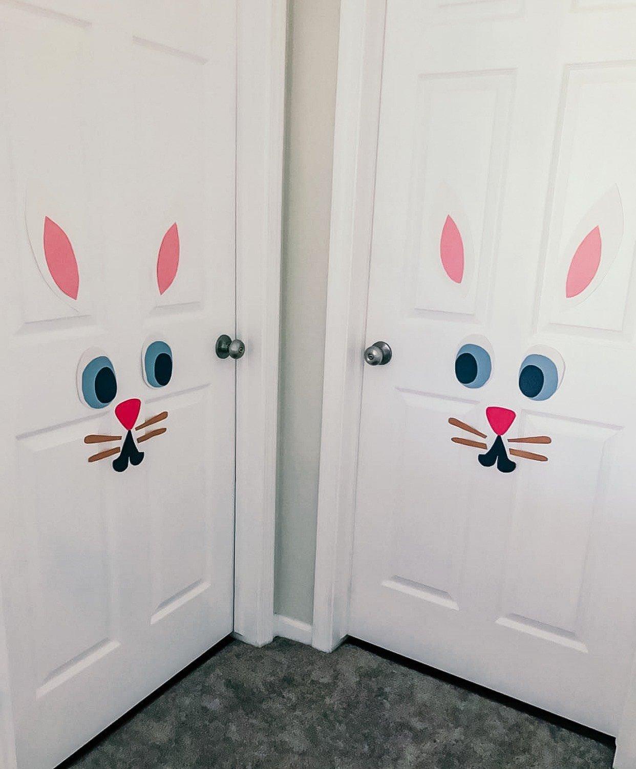 Easy Bunny Rabbit Door Decoration