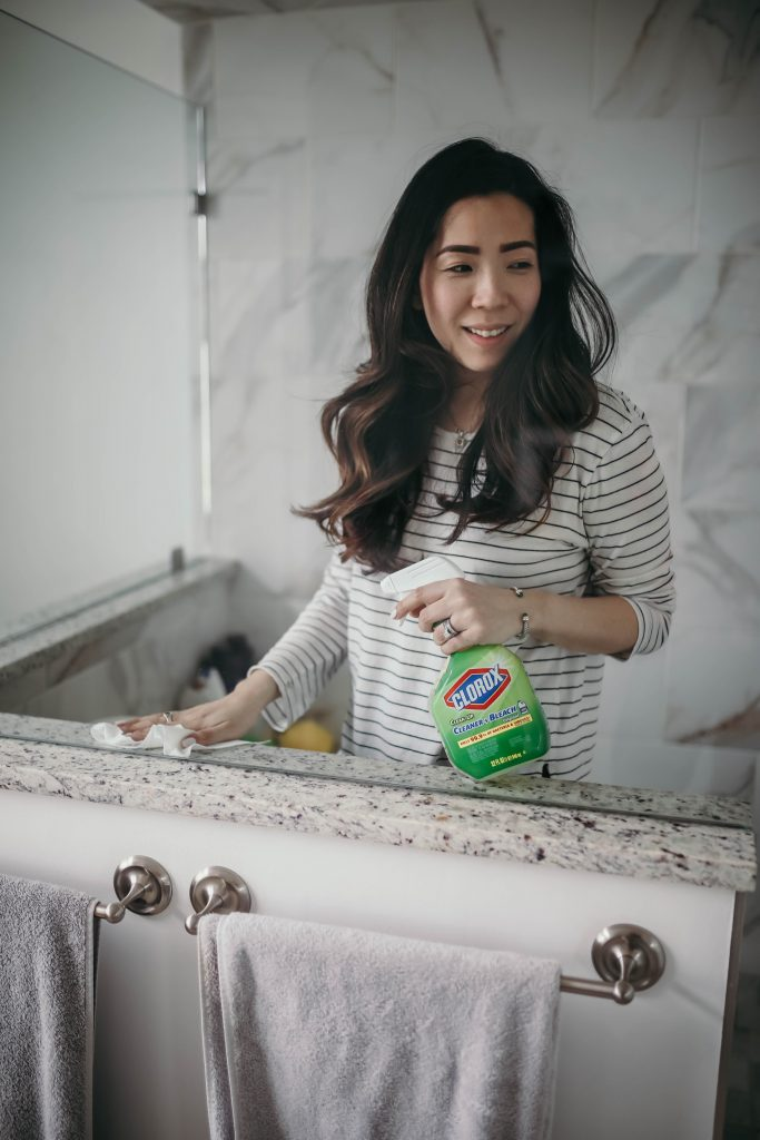 Cleaning with Clorox