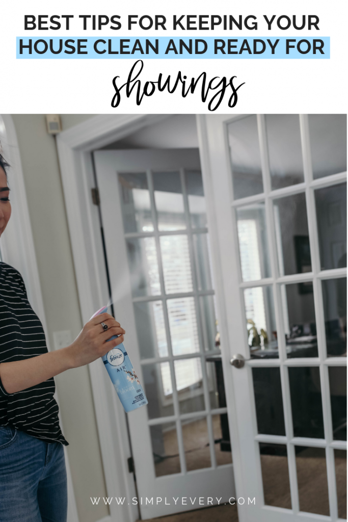 Best Tips for Keeping Your House Clean and Ready for Showings
