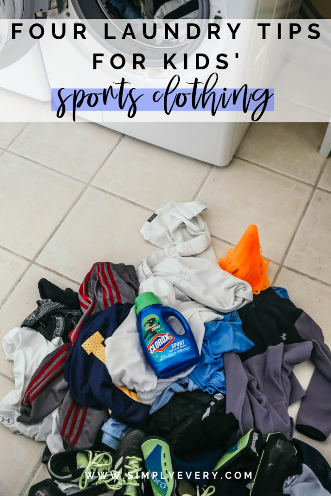 The products used to keep kids clothes clean after sports
