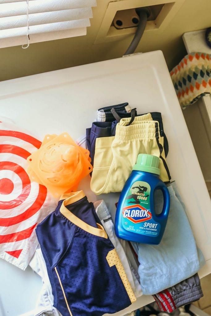 Detergent helps keep kids fresh after sports, laundry hacks