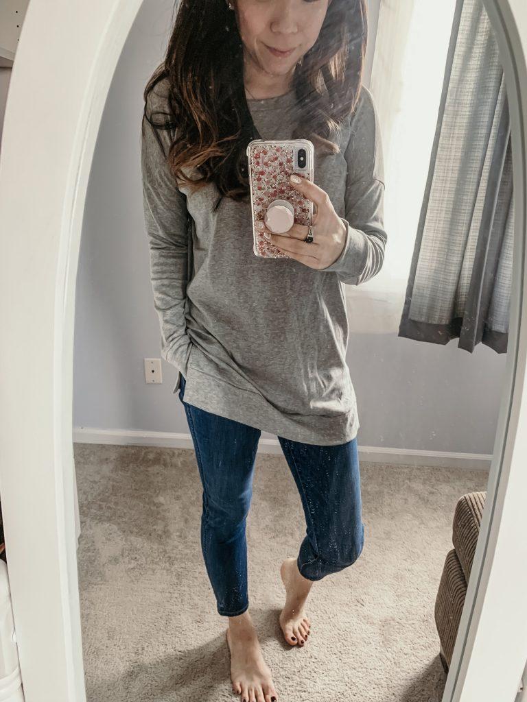 Amazon Favorites - Levaca Tunic Light Weight Sweatshirt Tee