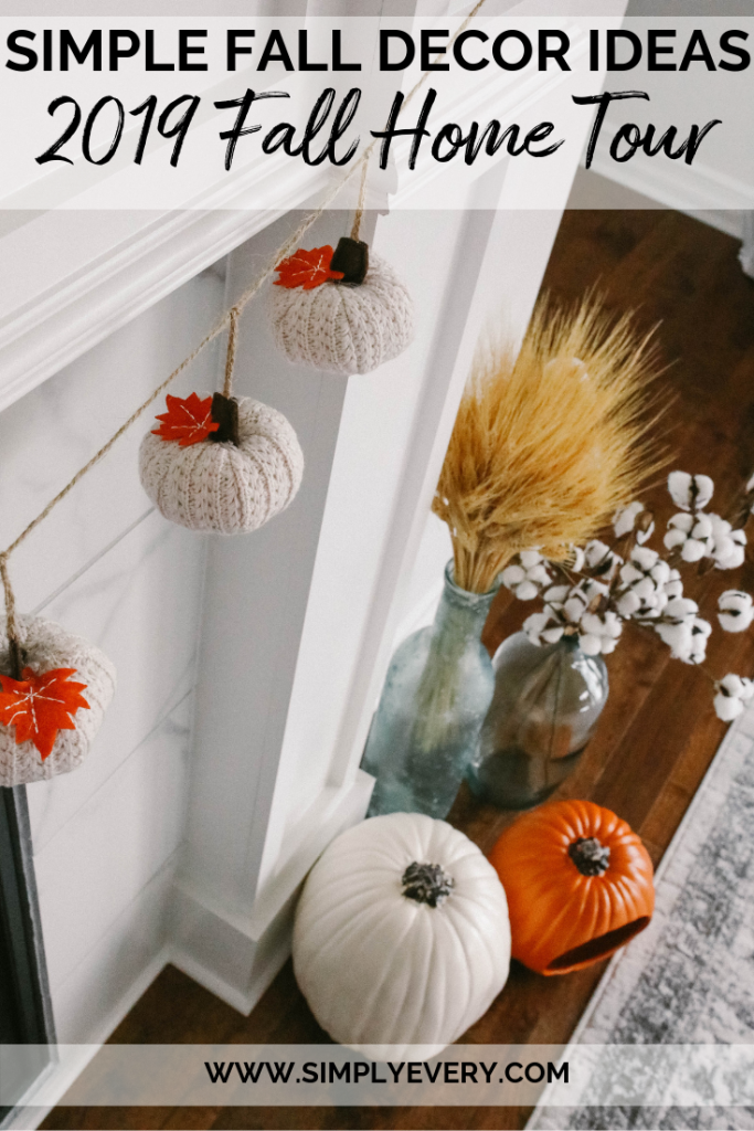 2019 fall home tour