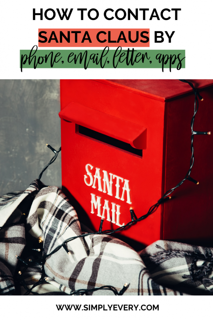 How To Contact Santa Claus