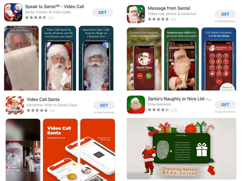 How To Contact Santa Claus Apps