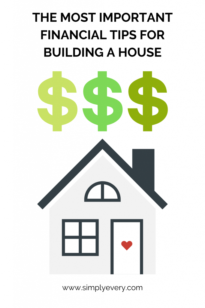 Financial Tips for Building a House