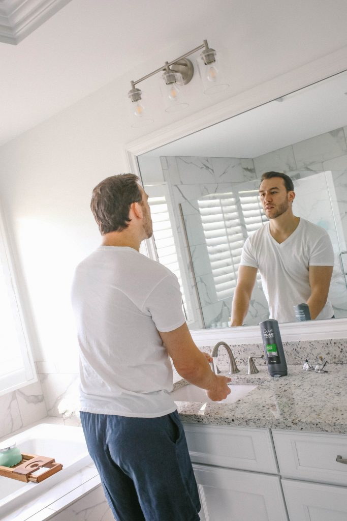 Modern Dad's Grooming Routine