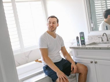 modern dads grooming routine