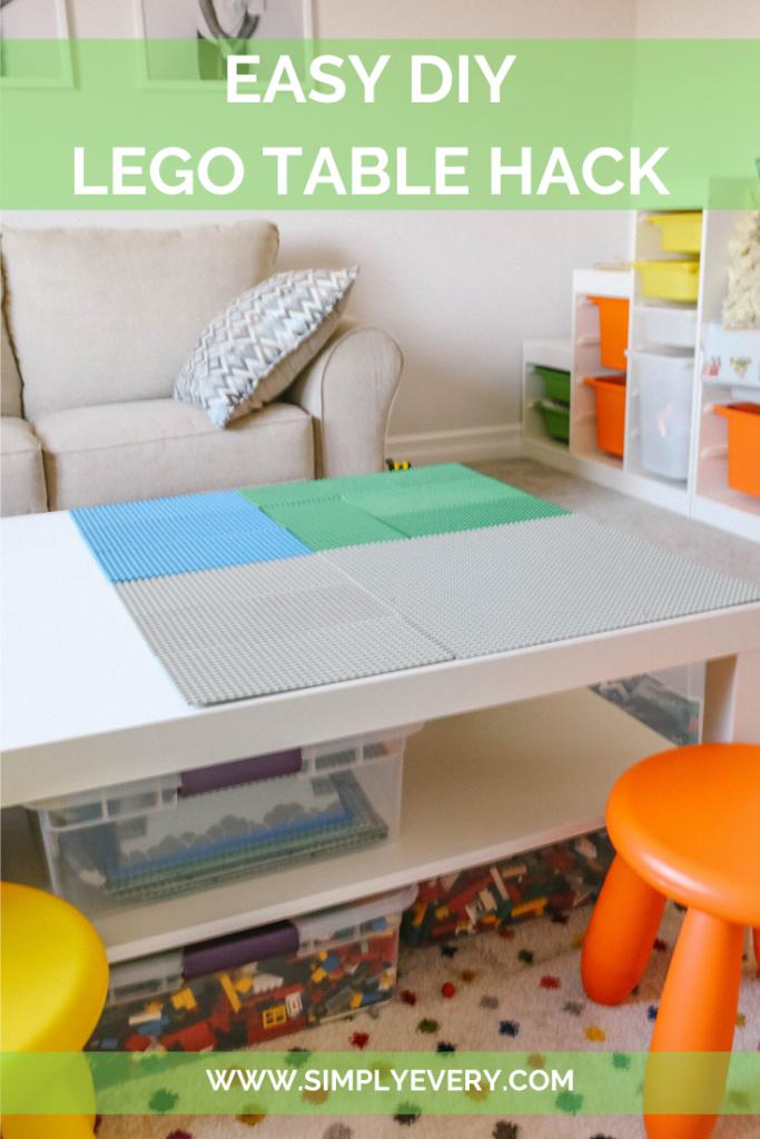 EASY DIY LEGO TABLE HACK