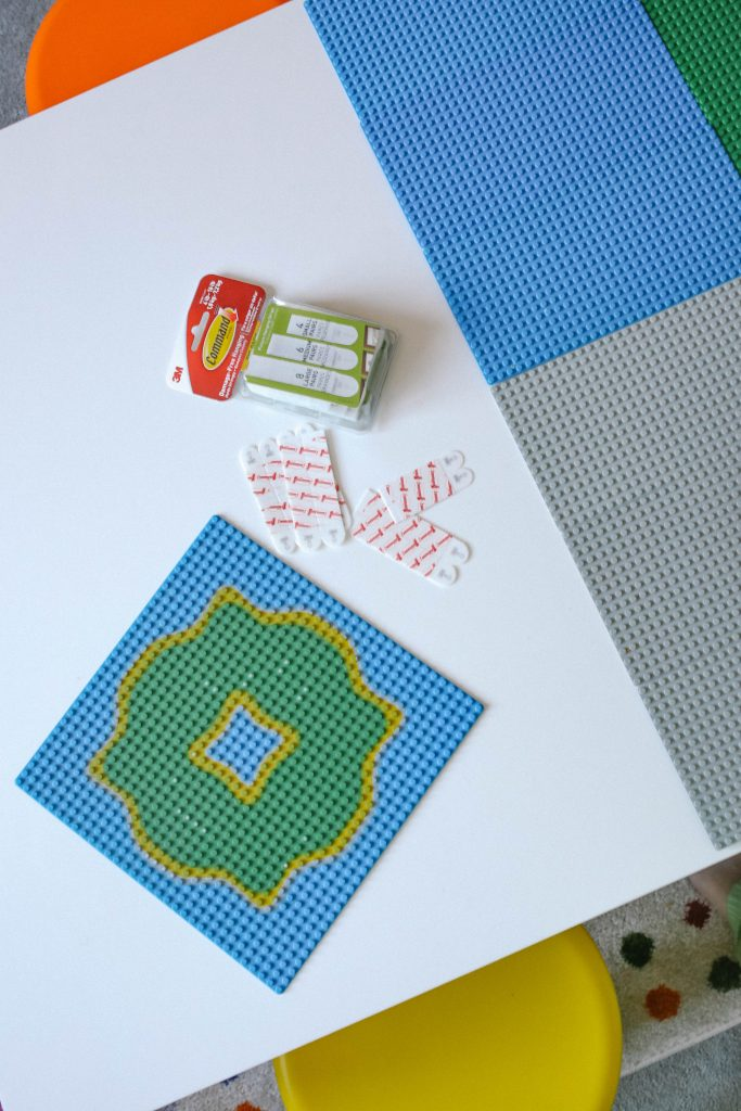 Supplies Needed for Easy DIY LEGO Table Hack