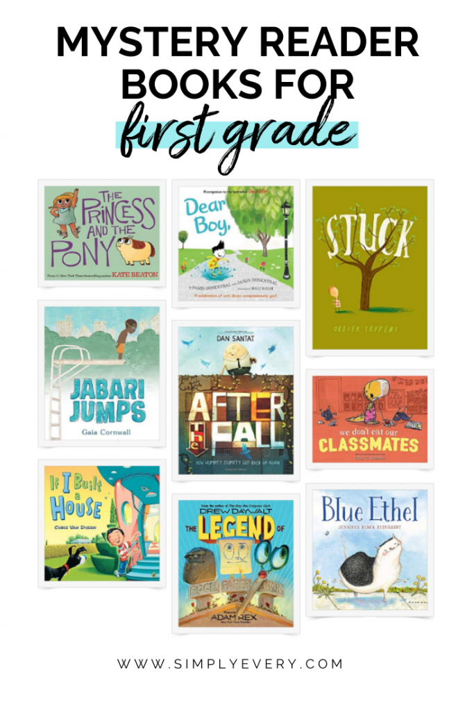 Myster Reader Books for First Graders
