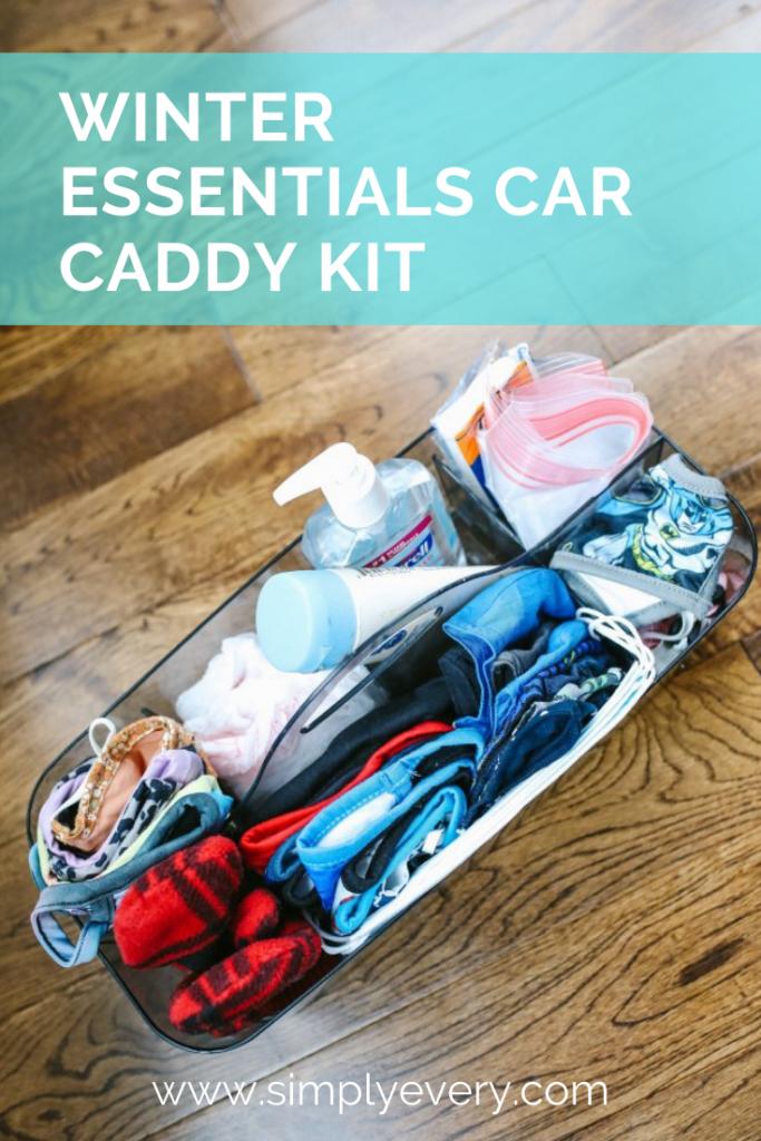Winter Essentials Car Kit Caddy