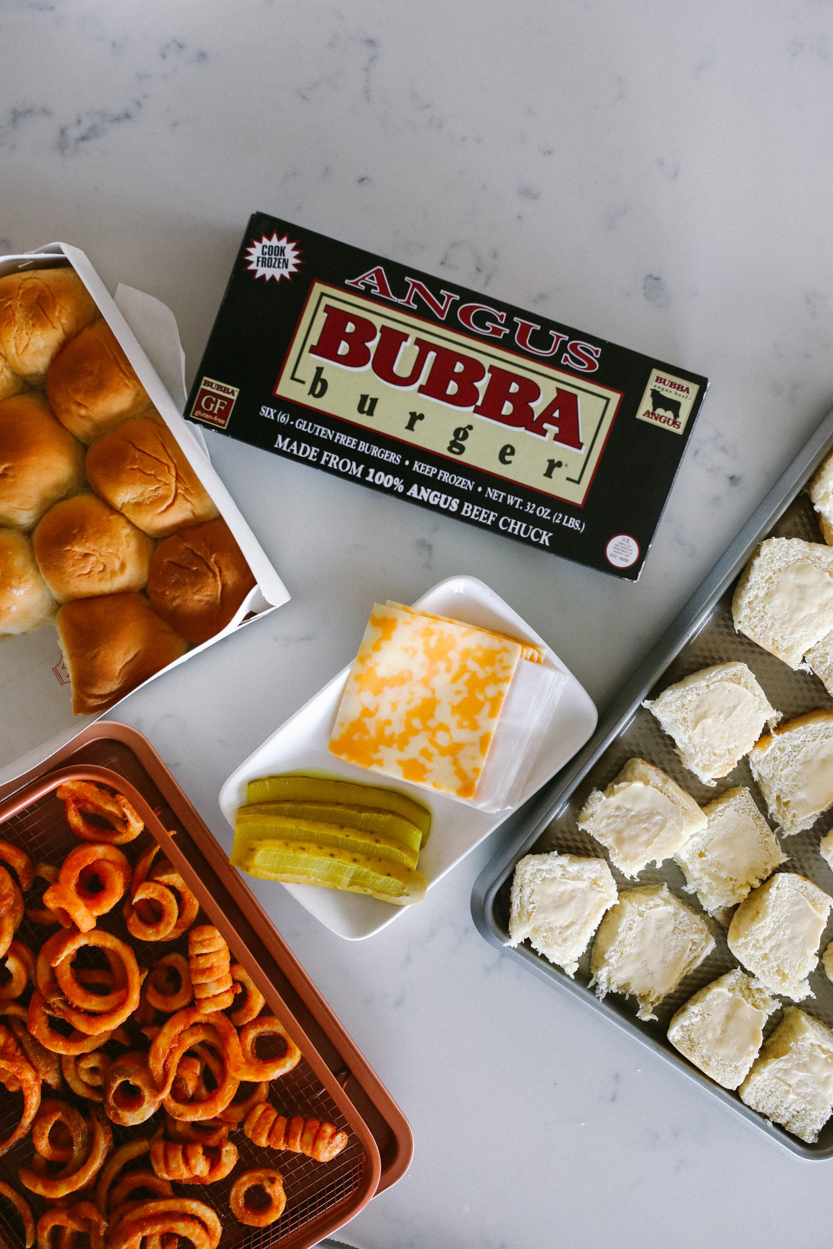 Easy Dinner Meal Idea: BUBBA burger Sliders